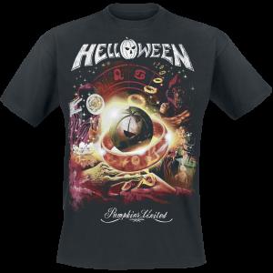 Helloween - Tour Collage - T-Shirt - black product image at Soundorabilia.com