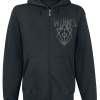 In Flames -  - Hooded zip - black product image at Soundorabilia.com