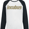 Incubus - Glitter Bomb - Longsleeve - white-black product image at Soundorabilia.com