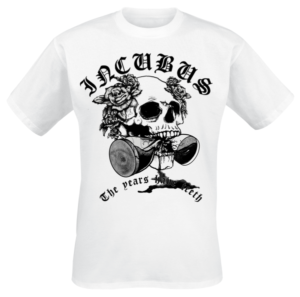 Incubus - Years Have Teeth - T-Shirt - white product image at Soundorabilia.com