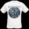 Iron Maiden - Ten Circles Eddie - T-Shirt - white product image at Soundorabilia.com