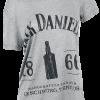 Jack Daniel's - 1866 - Girls shirt - mottled grey product image at Soundorabilia.com