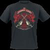 Johnny Cash - Crossed Guitars - T-Shirt - black product image at Soundorabilia.com
