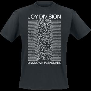 Joy Division - Unknown Pleasures - T-Shirt - black product image at Soundorabilia.com