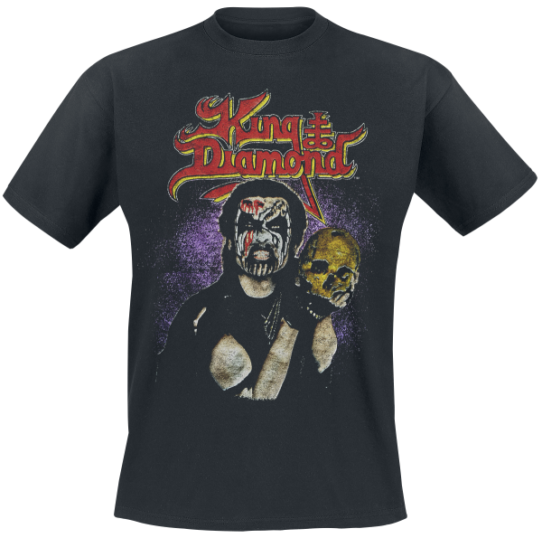 King Diamond - Conspiracy Tour 89 - T-Shirt - black product image at Soundorabilia.com