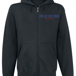Kiss - End Of The Road World Tour - Hooded zip - black product image at Soundorabilia.com