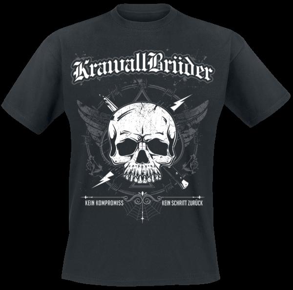 KrawallBrüder - Kein Kompromiss - T-Shirt - black product image at Soundorabilia.com