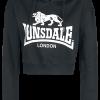 Lonsdale London - Roxeth - Girls hooded sweatshirt - black product image at Soundorabilia.com