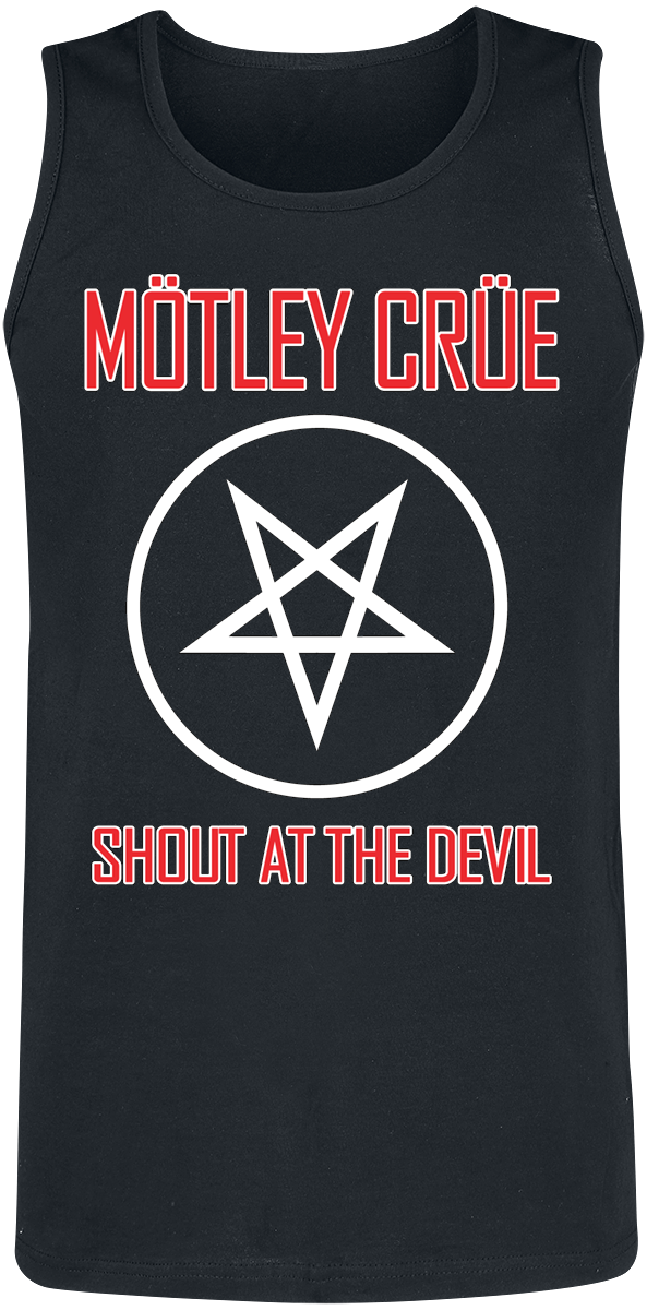 Mötley Crüe - Shout At The Devil - Tanktop - black product image at Soundorabilia.com