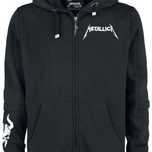 Metallica - EMP Signature Collection - Hooded zip - black product image at Soundorabilia.com