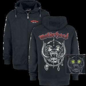 Motörhead - EMP Signature Collection - Hooded zip - black product image at Soundorabilia.com