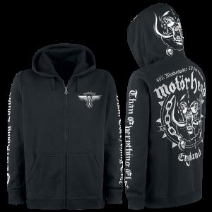 Motörhead - England - Hooded zip - black product image at Soundorabilia.com
