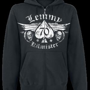 Motörhead - Lemmy - Forever - Hooded zip - black product image at Soundorabilia.com