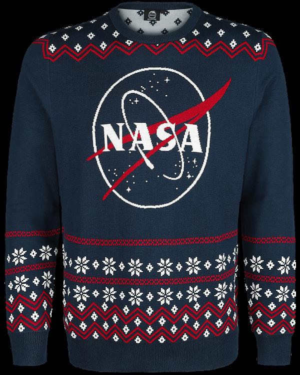 NASA - Logo - Knit sweater - blue product image at Soundorabilia.com