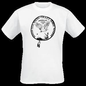 Neil Young - 1976 Crazy Horse - T-Shirt - white product image at Soundorabilia.com