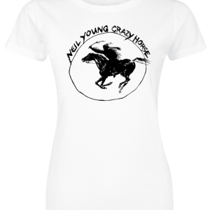 Neil Young - NYCH Tour - Girls shirt - white product image at Soundorabilia.com