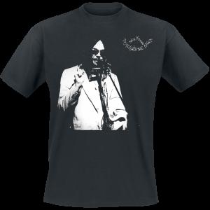 Neil Young - Tonights The Night - T-Shirt - black product image at Soundorabilia.com
