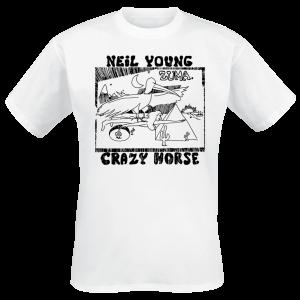 Neil Young - Zuma - T-Shirt - white product image at Soundorabilia.com