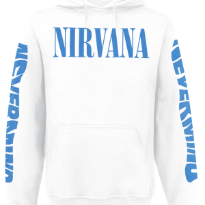 Nirvana - Nevermind - Hooded sweatshirt - white product image at Soundorabilia.com