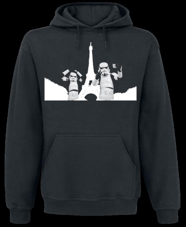 Original Stormtrooper - Selfie in Paris - Hooded sweatshirt - black product image at Soundorabilia.com