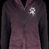 Outer Vision - Basic Instinct - Girls hooded sweatshirt - red-black product image at Soundorabilia.com