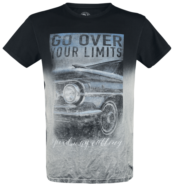 Outer Vision - Go Over Your Limits - T-Shirt - black product image at Soundorabilia.com