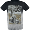 Outer Vision - Own Way - T-Shirt - black product image at Soundorabilia.com