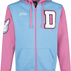Overwatch - D.VA - Hooded zip - light blue-pink product image at Soundorabilia.com