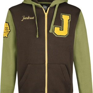Overwatch - Junkrat - Hooded zip - brown-green product image at Soundorabilia.com