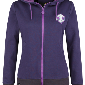 Overwatch - Sombra - Hero - Girls hooded zip - lilac product image at Soundorabilia.com