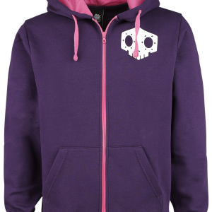 Overwatch - Sombra - Hooded zip - lilac product image at Soundorabilia.com