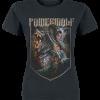 Powerwolf - Kiss Of The Cobra King - Girls shirt - black product image at Soundorabilia.com