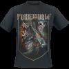 Powerwolf - Kiss Of The Cobra King - T-Shirt - black product image at Soundorabilia.com