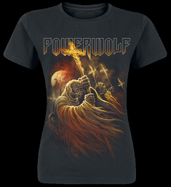 Powerwolf - Kreuzfeuer - Girls shirt - black product image at Soundorabilia.com