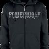 Powerwolf - Wolf Sign - Hooded zip - black product image at Soundorabilia.com