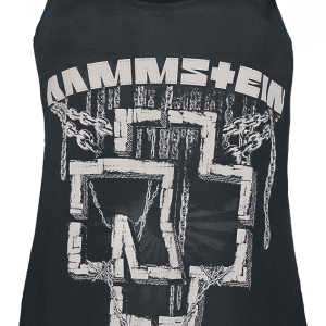 Rammstein - In Ketten - Girls Top - black product image at Soundorabilia.com