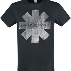 Red Hot Chili Peppers - Amplified Collection - Duct Tape - T-Shirt - black product image at Soundorabilia.com