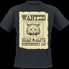 Schrödinger's Cat -  - T-Shirt - black product image at Soundorabilia.com
