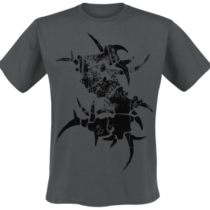 Sepultura - Logo - T-Shirt - charcoal product image at Soundorabilia.com