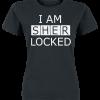 Sherlock - I Am Sherlocked - Girls shirt - black product image at Soundorabilia.com