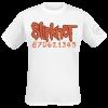Slipknot - 20th Anniversary Card - T-Shirt - white product image at Soundorabilia.com