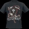 Sons Of Anarchy - Samcro Reaper - T-Shirt - black product image at Soundorabilia.com