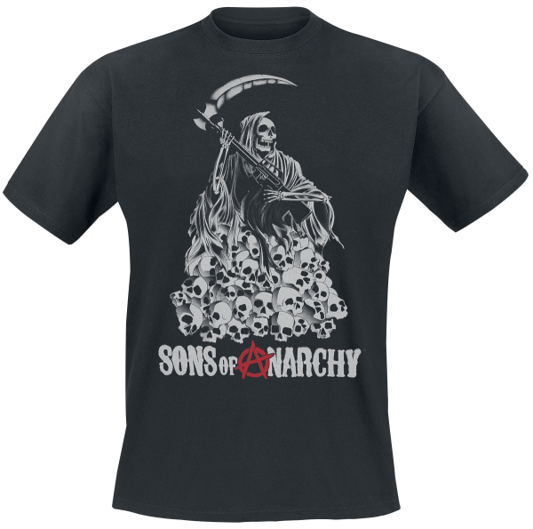 Sons Of Anarchy - Skull Reaper - T-Shirt - black product image at Soundorabilia.com