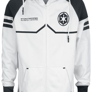 Star Wars - Stormtrooper - Hooded zip - white product image at Soundorabilia.com