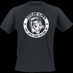 Stray cats - Est. 1979 - T-Shirt - black product image at Soundorabilia.com