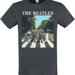 The Beatles - Amplified Collection - Abbey Road - T-Shirt - charcoal product image at Soundorabilia.com