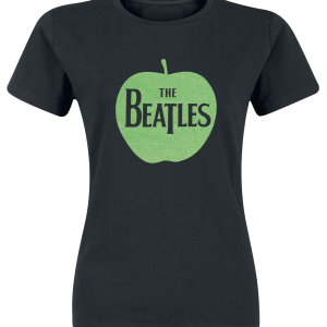 The Beatles - Apple Green Sparkle - Girls shirt - black product image at Soundorabilia.com