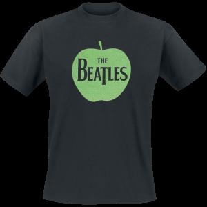 The Beatles - Apple Green Sparkle - T-Shirt - black product image at Soundorabilia.com