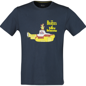 The Beatles - Yellow Submarine - T-Shirt - navy product image at Soundorabilia.com