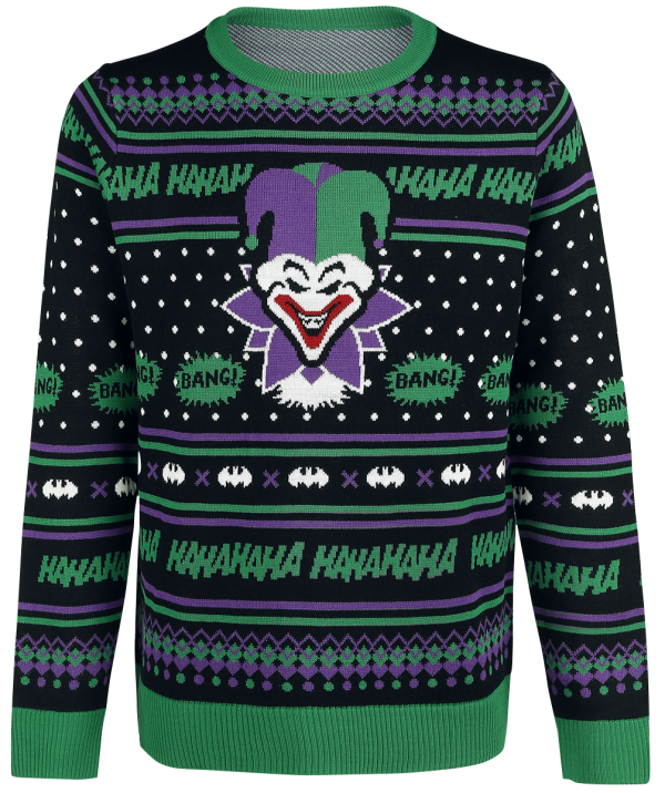 The Joker -  - Sweatshirt - multicolour product image at Soundorabilia.com